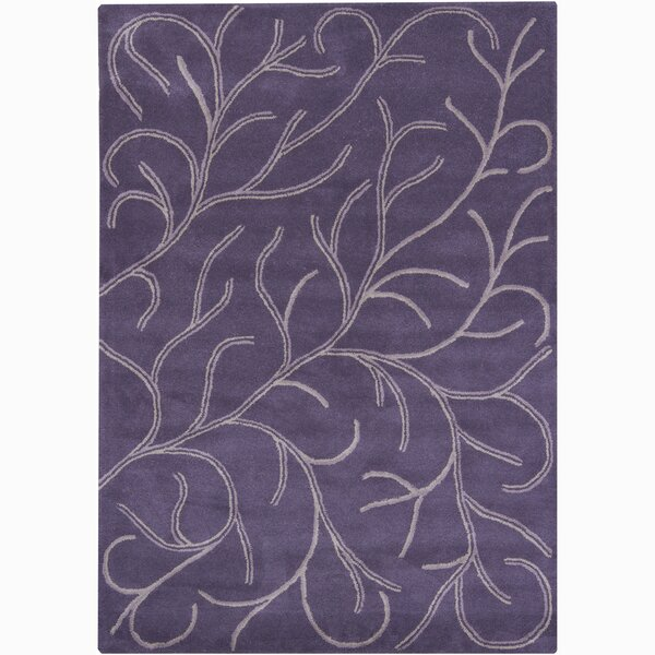 Gilda Purple Area Rug by House of Hampton
