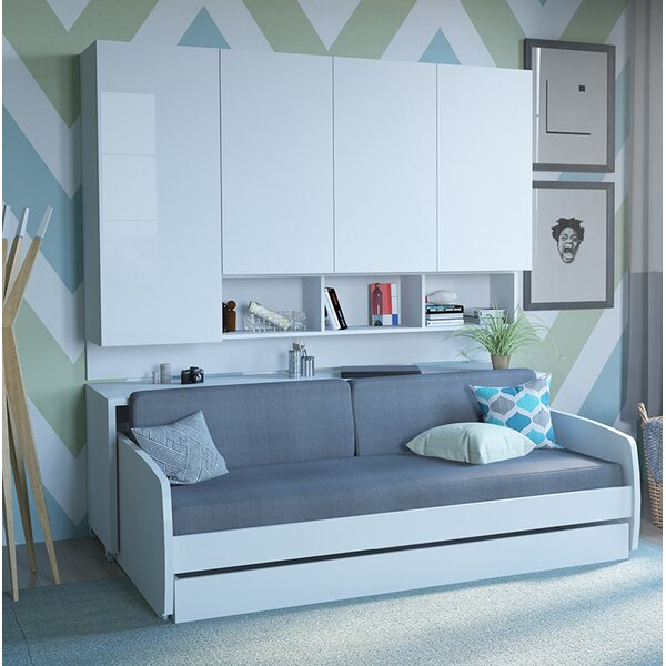 Gautreau Compact Twin Murphy Bed by Brayden Studio Brayden Studio