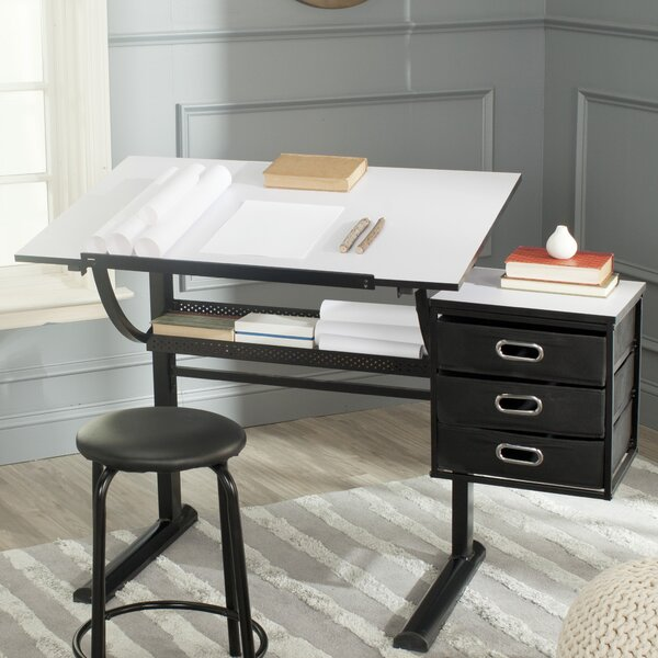 Harvard Drafting Table by Safavieh