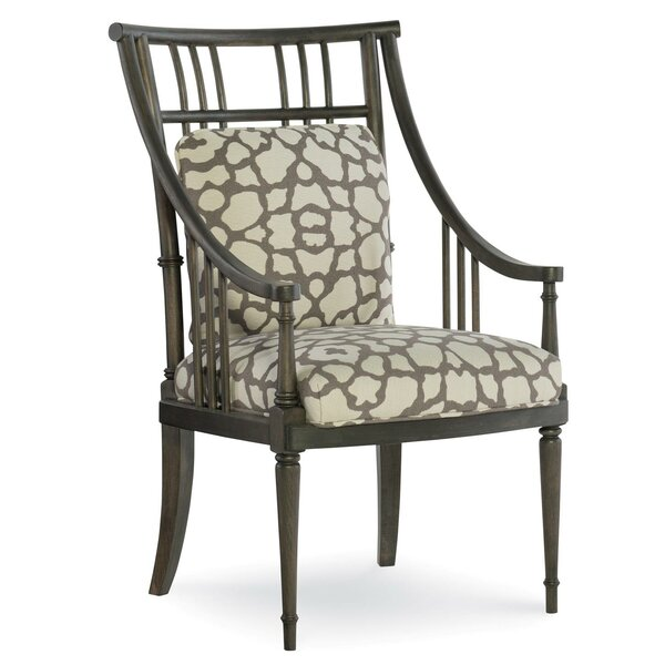 Fusion Jasper Spindle Upholstered Dining Chair by Fine Furniture Design