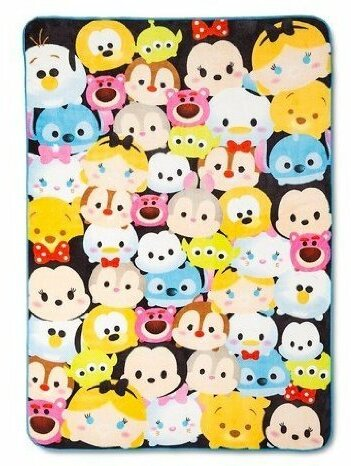 Tsum Tsum Plush Blanket by Disney