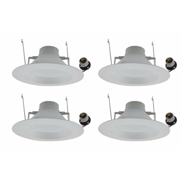 6 Reflector Recessed Trim (Set of 4) by Elegant Lighting
