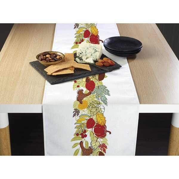 Chinook Autumn Border Table Runner by The Holiday Aisle
