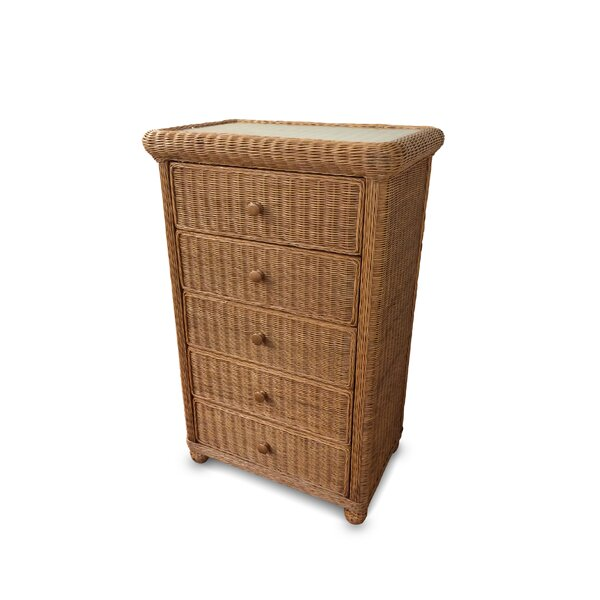 Watkins 5 Drawer Chest by Bay Isle Home