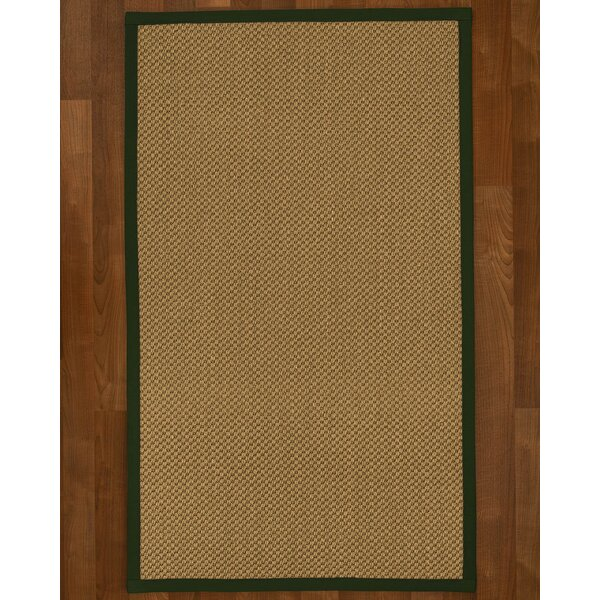 Loehr Handwoven Flatweave Brown Area Rug by August Grove