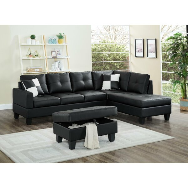 Review Farallones Sectional With Ottoman
