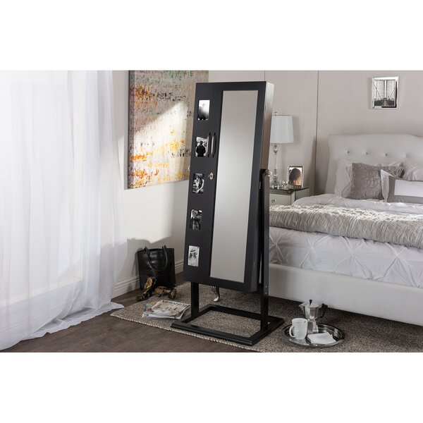 Roberta Double Door Storage Jewelry Armoire by Latitude Run Latitude Run