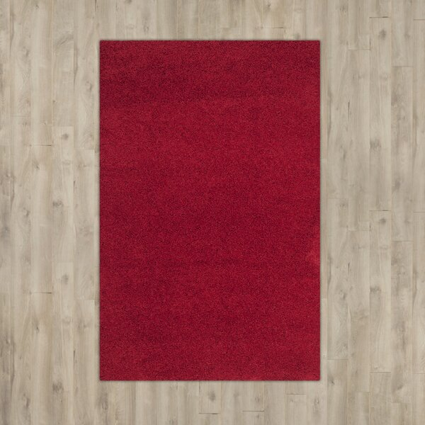 Nickols Red Area Rug by Brayden Studio