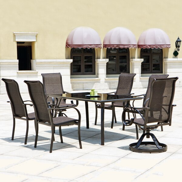 Coronado 7 Piece Dining Set by Mission Hills