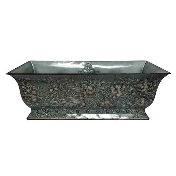 Piero Window Metal Planter Box by Gracie Oaks