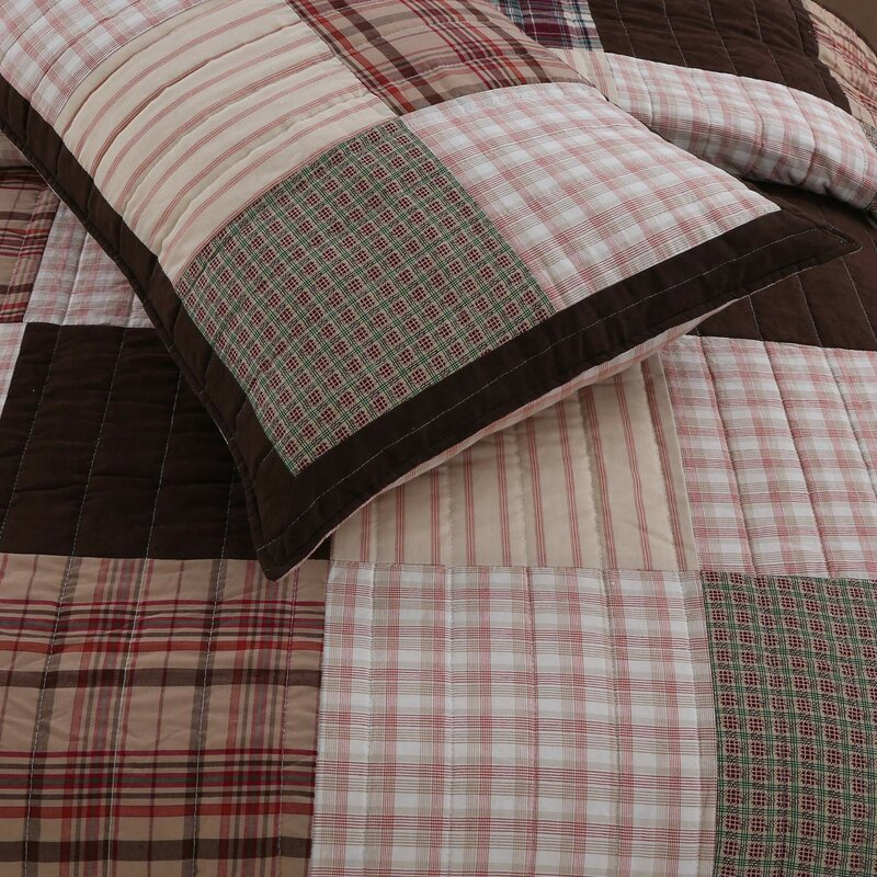 Jakob Patchwork Quilt Set