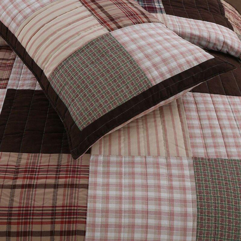 Jakob Patchwork Quilt Set