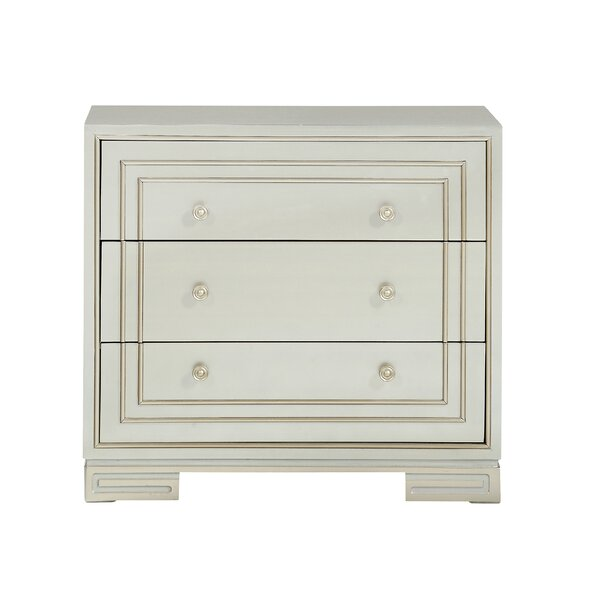 Castille 3 Drawer Accent Chest by House of Hampton