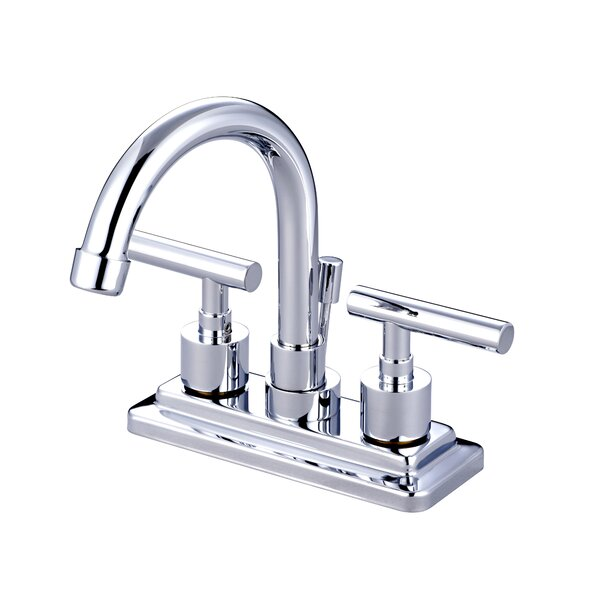 Tampa Centerset Bathroom Faucet with Drain Assembly by Elements of Design
