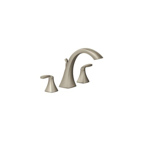 Voss Two Handle Deck Mount Roman Tub Faucet Trim b