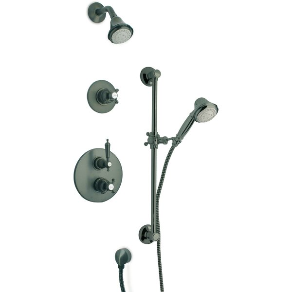 Ornellaia Thermostatic Valve Shower System by LaToscana