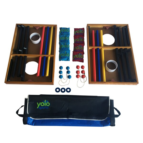 25 Piece Ladder Ball Set by Yolo Sports