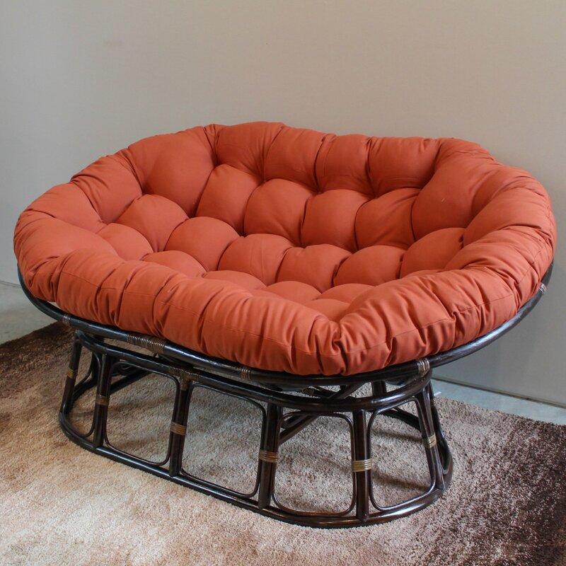 Genial Bocanegra Double Papasan Chair