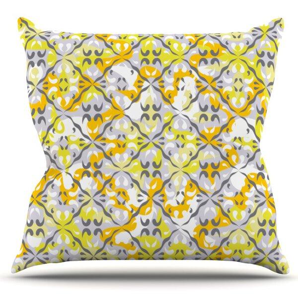 Effloresco by Miranda Mol Outdoor Throw Pillow by East Urban Home
