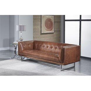 Gulielma Leather Sofa