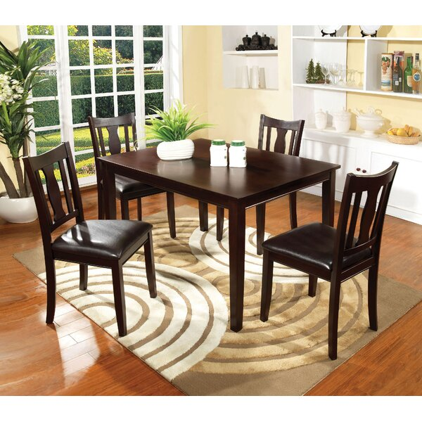 Crewellwalk 5 Piece Dining Set by Latitude Run