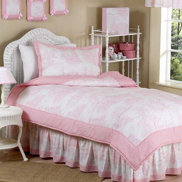 French Toile 4 Piece Twin Comforter Set by Sweet Jojo Designs