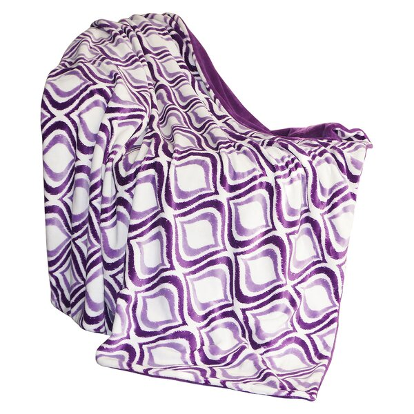 Mystique Flannel Throw Blanket by BOON Throw & Blanket