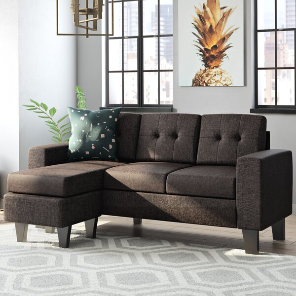 Sectional with Ottoman by Mercury Row