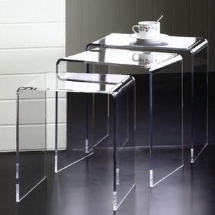 Coupon Pure Décor 3 Piece Nesting Tables By Fox Hill Trading