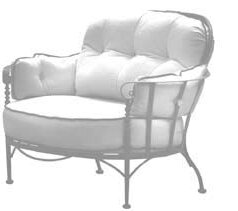Urquhart Deep Seating Chair with Cushion by Fleur De Lis Living Fleur De Lis Living
