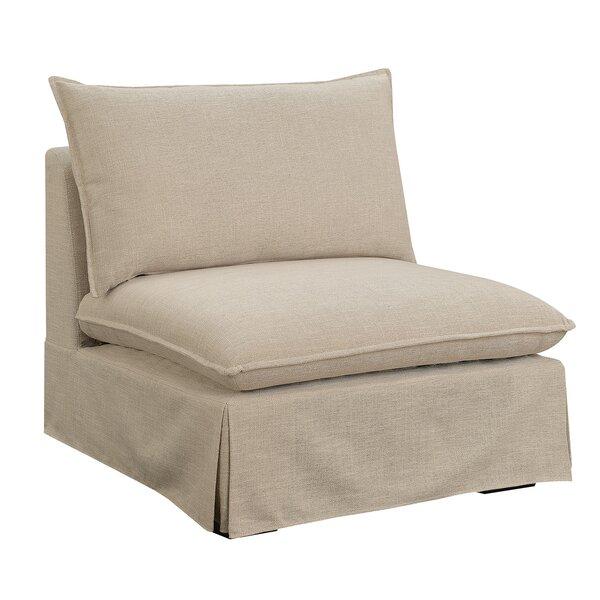 Becker Slipper Chair by Alcott Hill