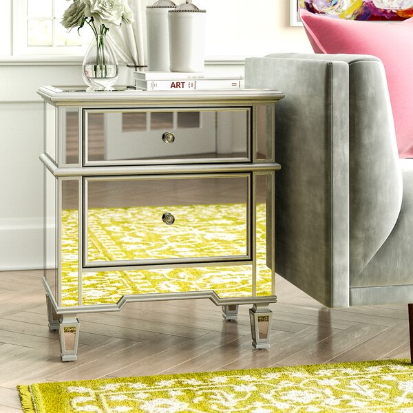 Aedesia 2 Drawer Nightstand by Willa Arlo Interiors