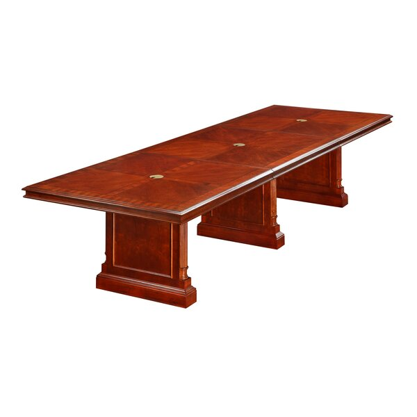 Prestbury Expandable Rectangular Conference Table by Darby Home Co