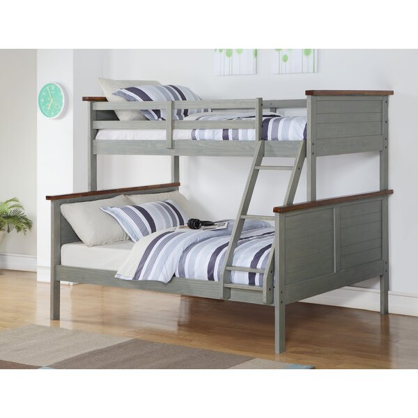 Hartell Panel Twin over Full Bunk Bed by Harriet Bee