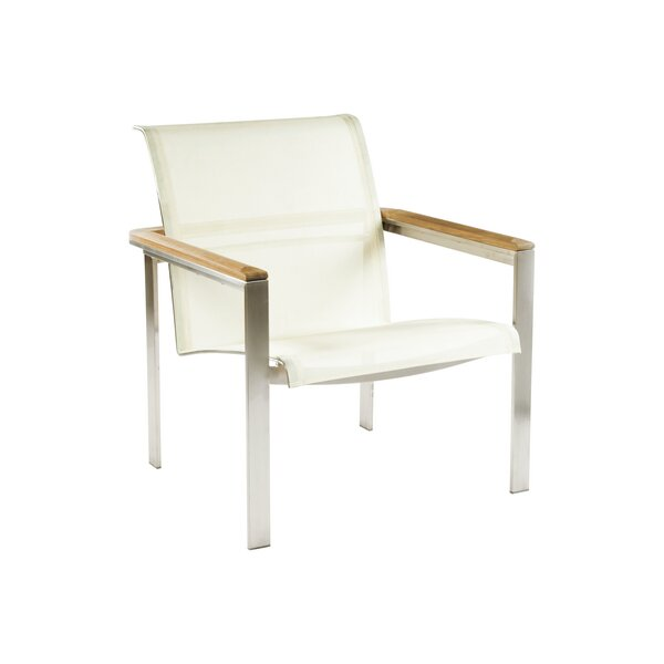 Tivoli Stacking Patio Chair with Ottoman by Kingsley Bate