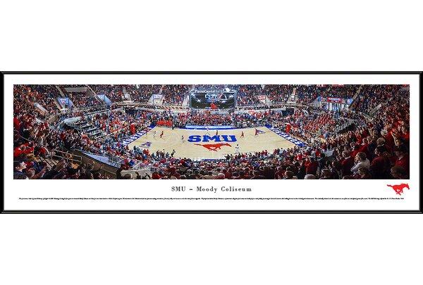 NCAA Southern Methodist University Framed Photographic Print by Blakeway Worldwide Panoramas, Inc