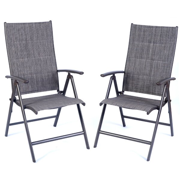 Corsham Folding Patio Dining Chair (Set of 2) by 17 Stories