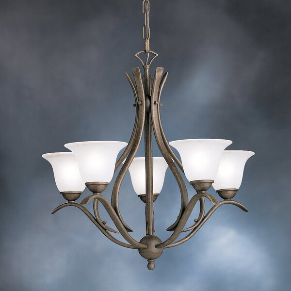 Cayman 5-Light Shaded Classic / Traditional Chandelier by Alcott Hill Alcott Hill