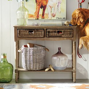 Buy clear Pegg Console Table By August Grove