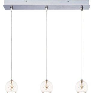 Affordable Kugler 3-Light Pendant By Brayden Studio