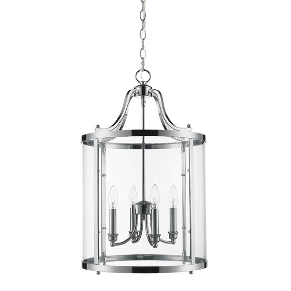 Tessie 4-Light Foyer Pendant by August Grove