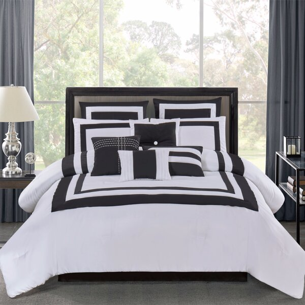 Chriswell 10 Piece Comforter Set by Darby Home Co