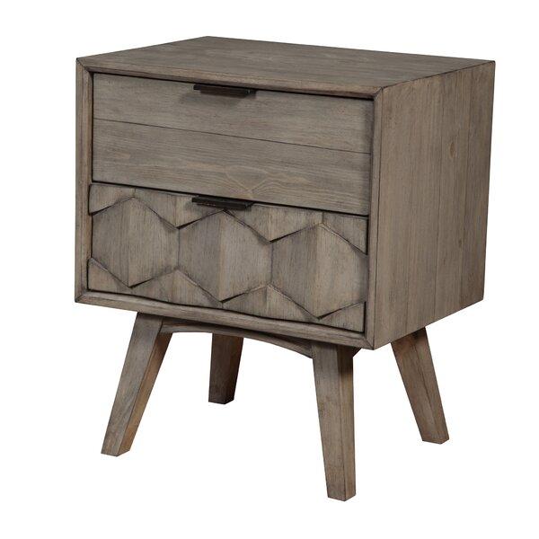 Korsen 2 Drawer Nightstand by Modern Rustic Interiors