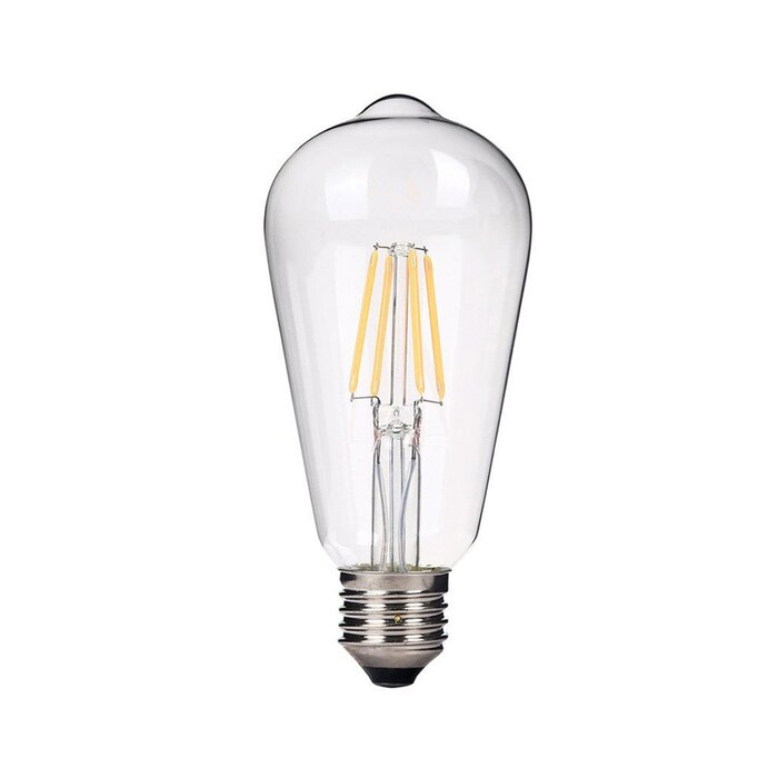 best service 8d373 466e7 4 Watt (40 Watt Equivalent), ST64 LED, Dimmable Light Bulb, Warm White  (2700K) E26/Meduim (Standard) Base