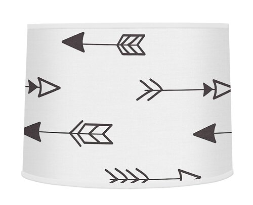 Fox Large Arrow Print 10 Drum Lamp Shade by Sweet Jojo Designs