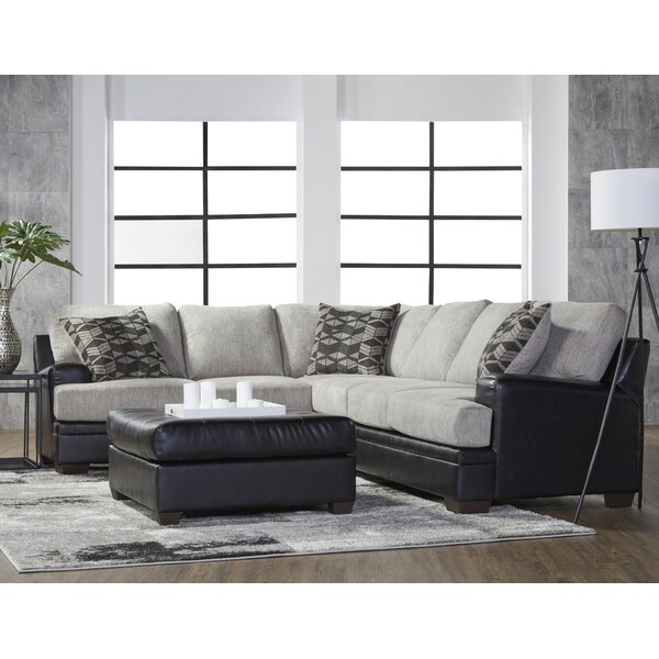 Rayshawn Left Hand Facing Sectional By Millwood Pines