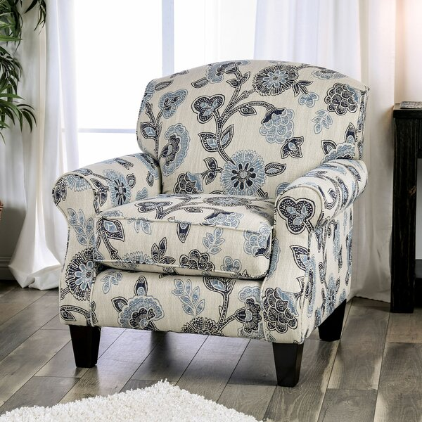 Mandalay Floral Armchair by Canora Grey