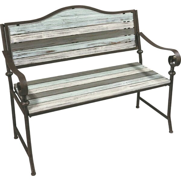 Dupree Steel Park Bench By Highland Dunes