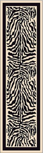 Innovation Print Zulu Zebra Area Rug by Milliken