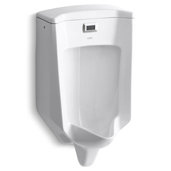 Bardon Touchless Washout Wall-Mount 1/2 GPF Urinal by Kohler